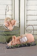 690 - Lucky House Mouse Paper Pattern