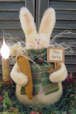 597 - Spring Thyme Bunny Paper Pattern