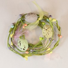 "1.5"" Easter Pip Berry Candle Ring"