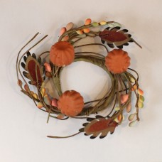 "2"" Fall Pip Berry Candle Ring"