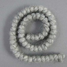 Curly Crepe Wool - Light Grey - 1 Foot Length