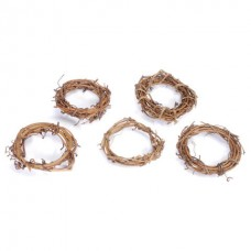 "2"" Grapevine Wreaths - Package of 12"