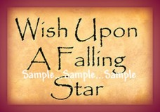 I50 - Wish Upon A Falling Star Sign 1